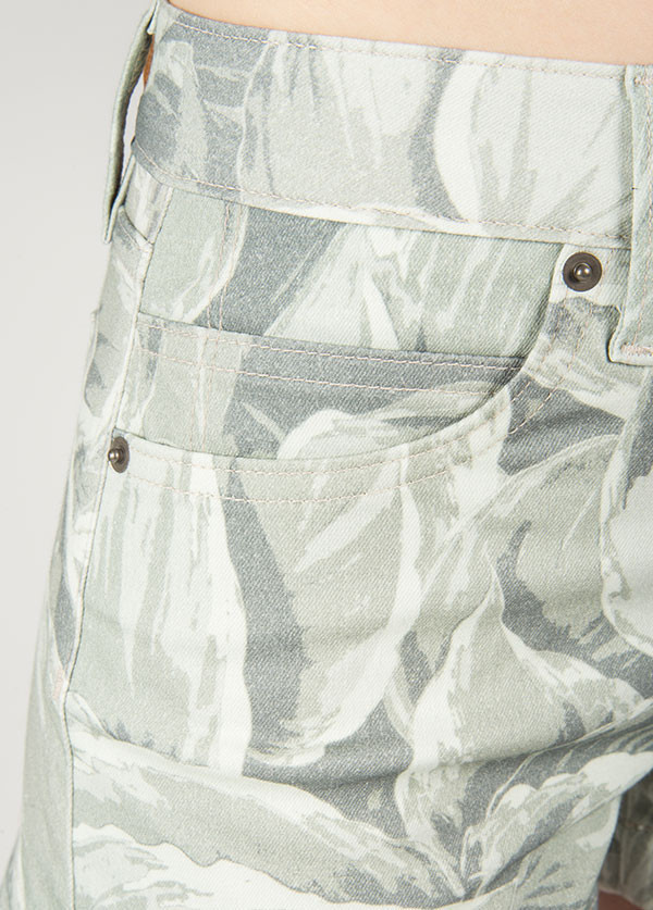 Objects Without Meaning Hi-Rise Denim Short