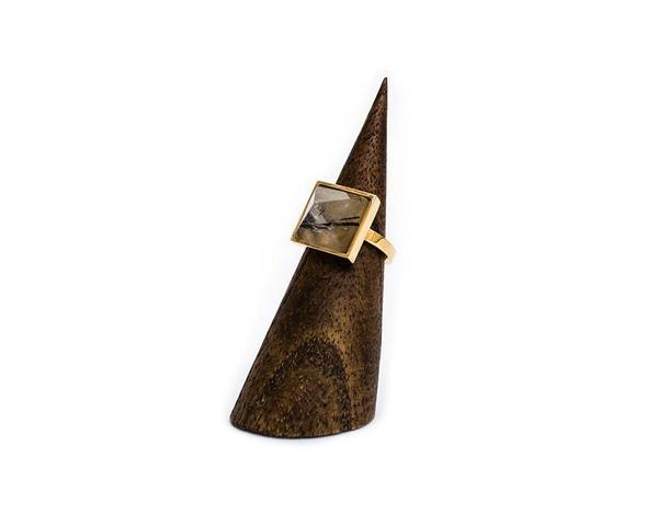 Kelly Wearstler Gold Kazan Ring