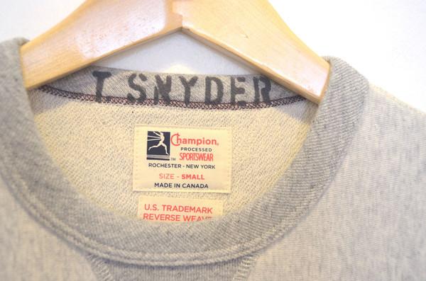Men's Todd Snyder Reverse Weave Crew