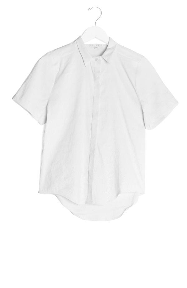 Kieley Kimmel Sutro Shirt | white