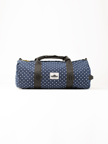 Penfield Irondale Nylon Roll Bag in Navy Dot