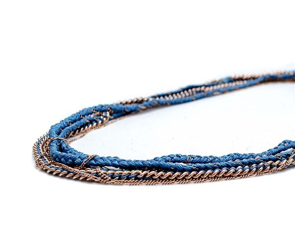 Alyssa Norton Braided Chain Wrap Bracelet and Necklace