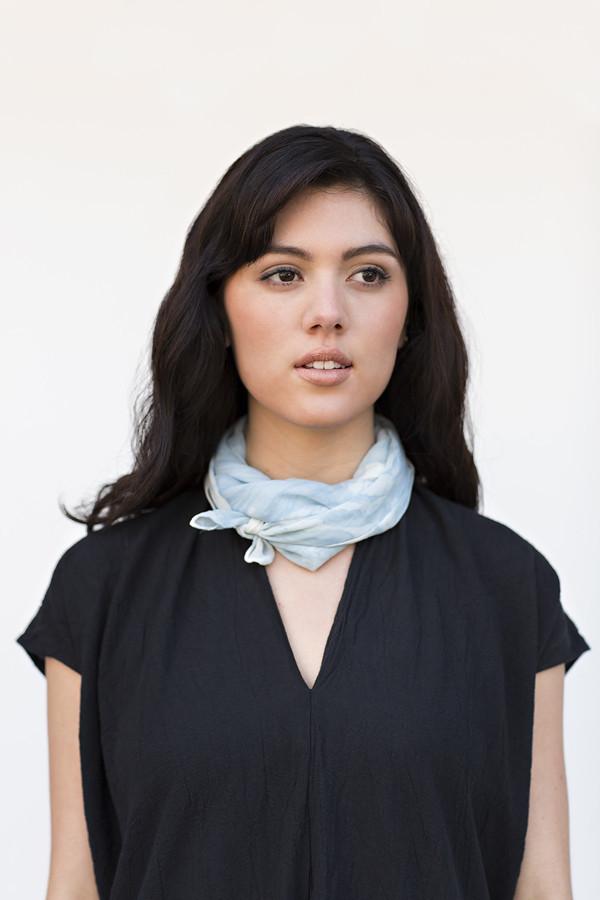 Miranda Bennett Oceania Silk Square