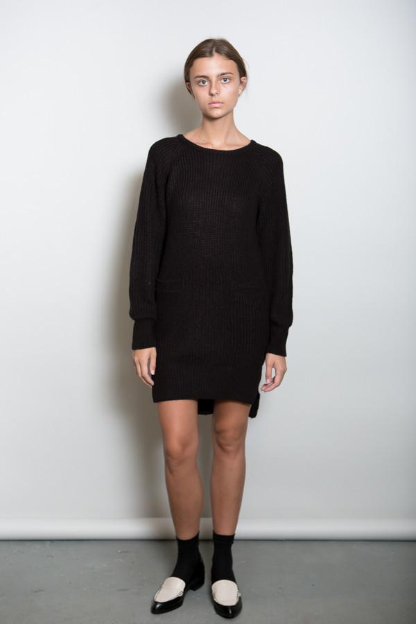Callahan Crewneck Pocket Dress