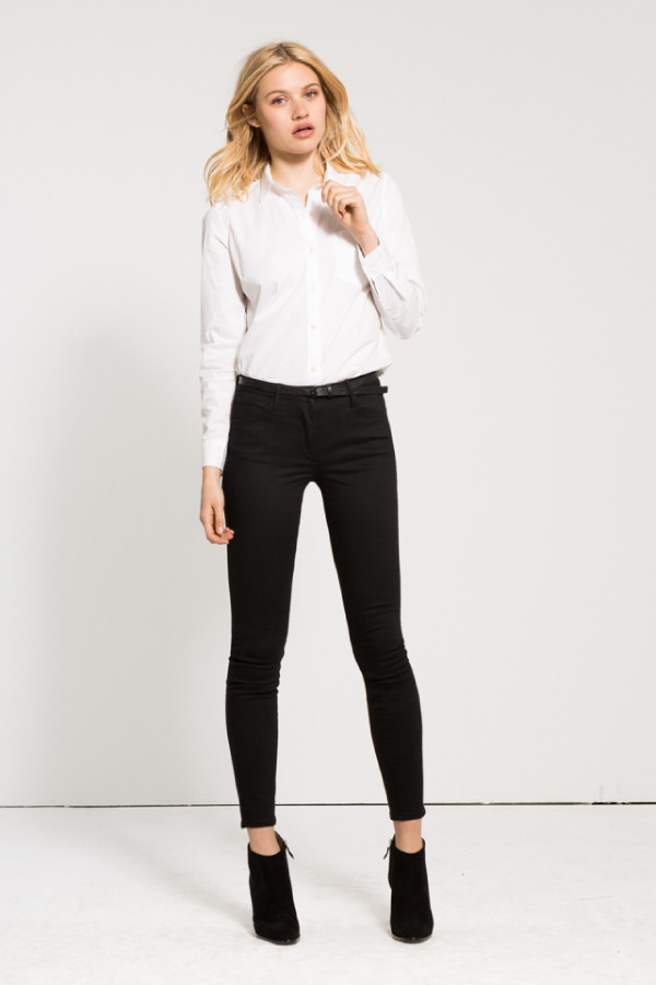 3x1 NYC W3 High Rise Crop Skinny Jean