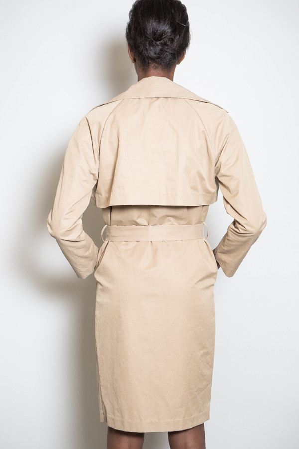 Achro Washed Twill Trench Coat