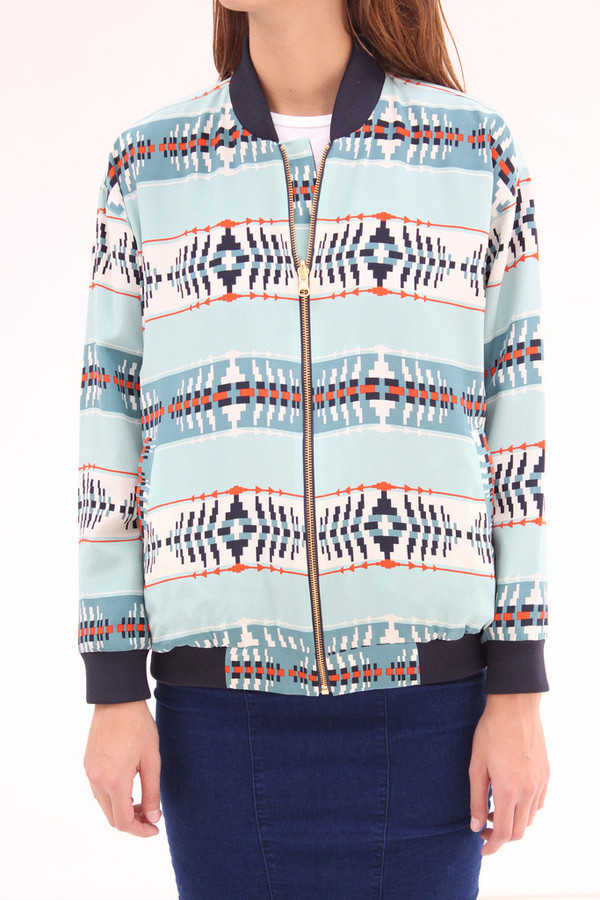 Pendleton Reversible Oregon Dunes Silk Jacket