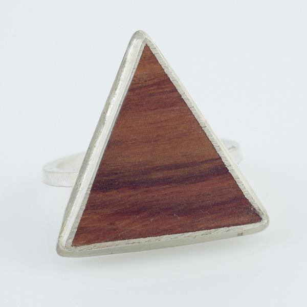 Young in the Mountains Triangle Ring