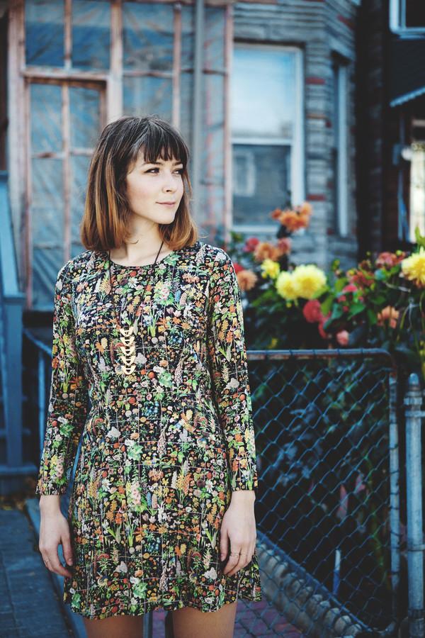 Samantha Pleet Galactic Dress | Floral