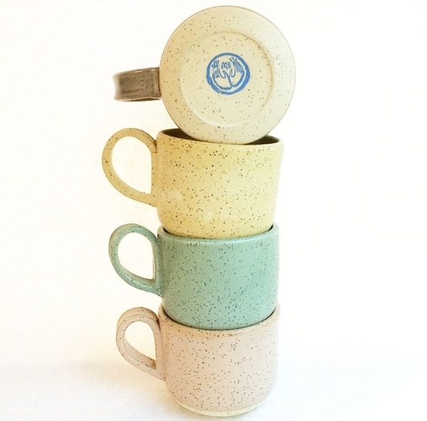 Maggie Boyd Pastel Speckle Mug