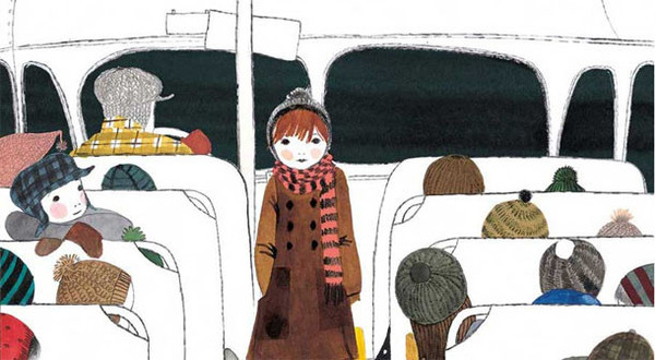 Singing Away the Dark by Julie Morstad