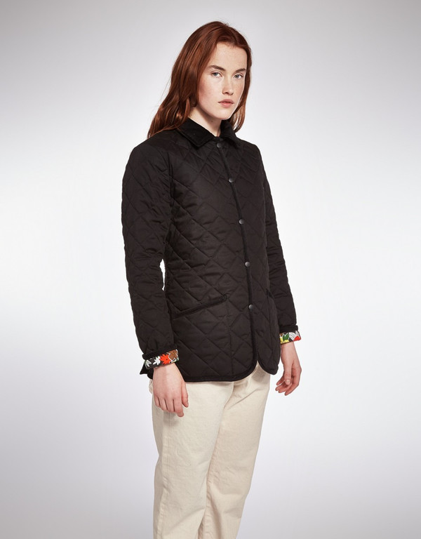 YMC QUILTED JACKET- BLACK
