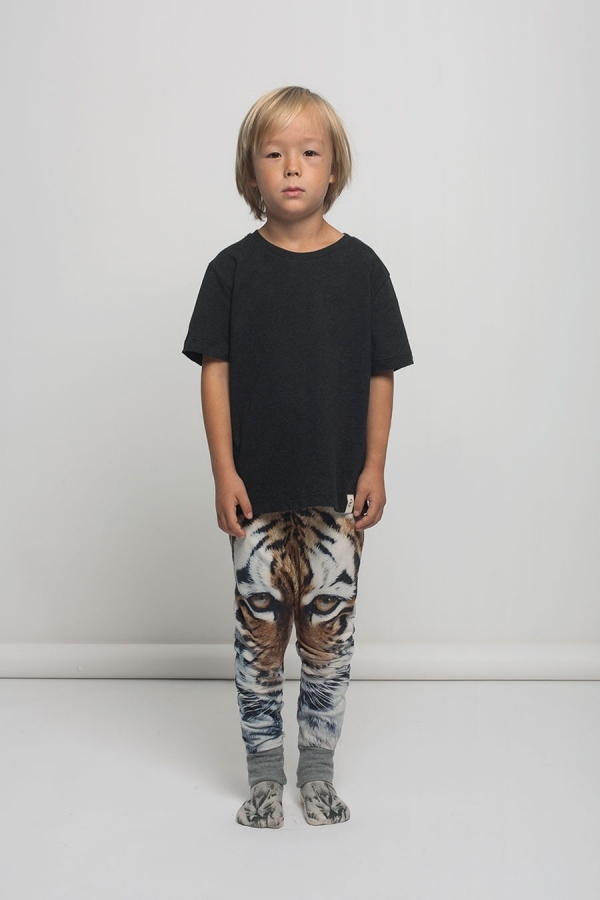 Kid's Popupshop Tiger Leggings