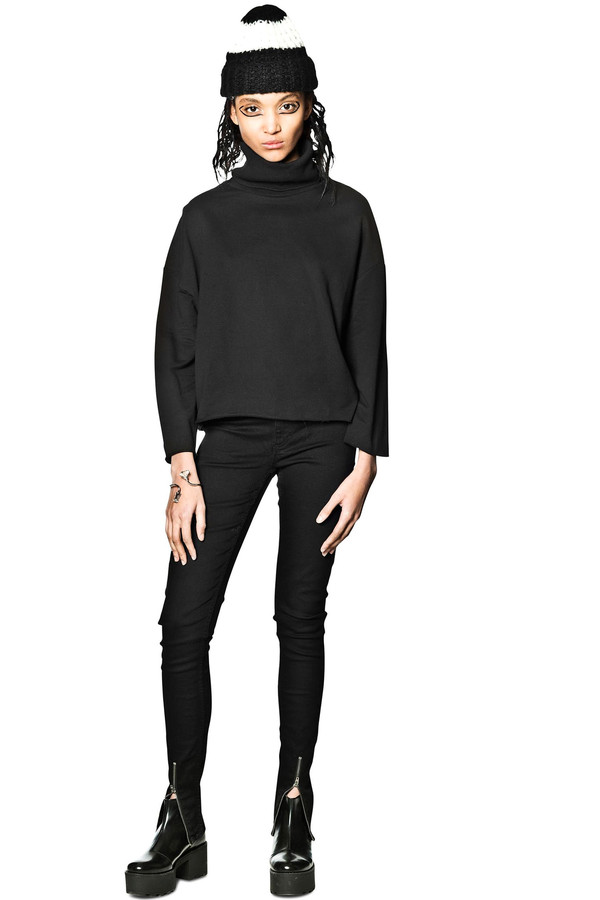 CHEAP MONDAY - TRACK SWEAT NOIR