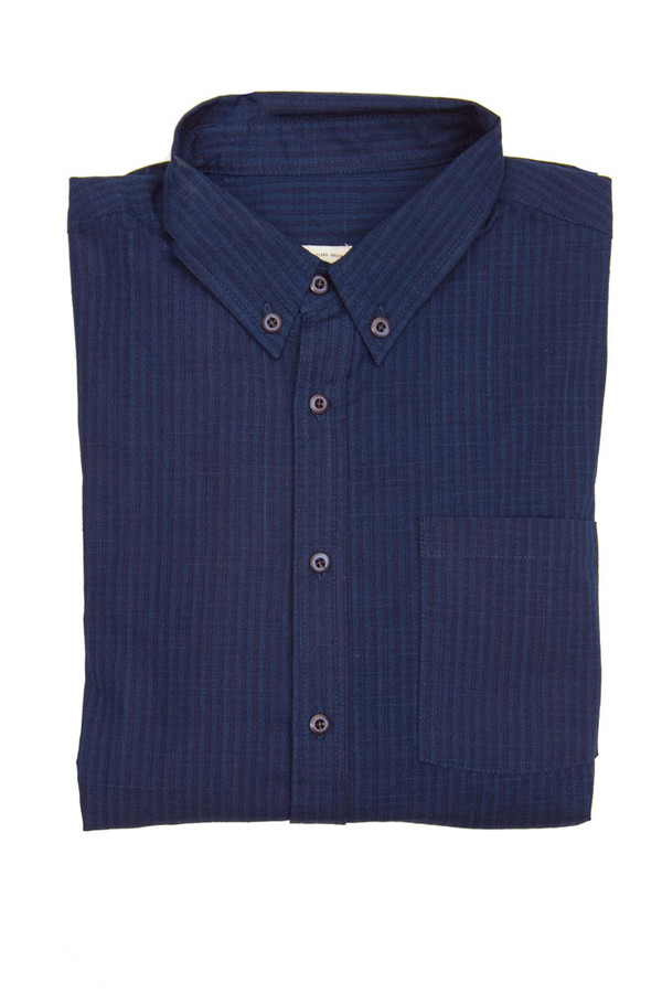 Men's Bridge & Burn Fulton Indigo Grid