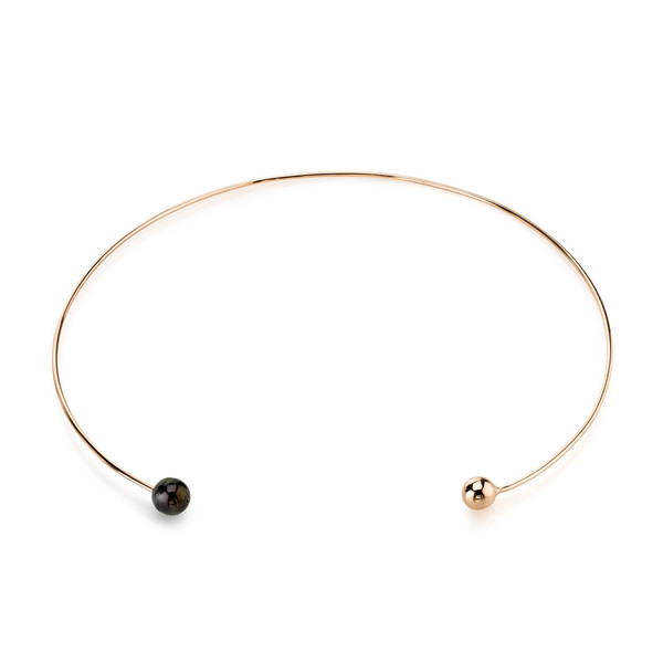 Gabriela Artigas Orbit & Black Pearl Choker
