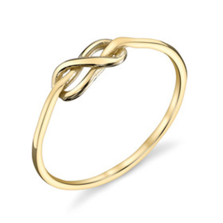 Gabriela Artigas Yellow Gold Knot Ring
