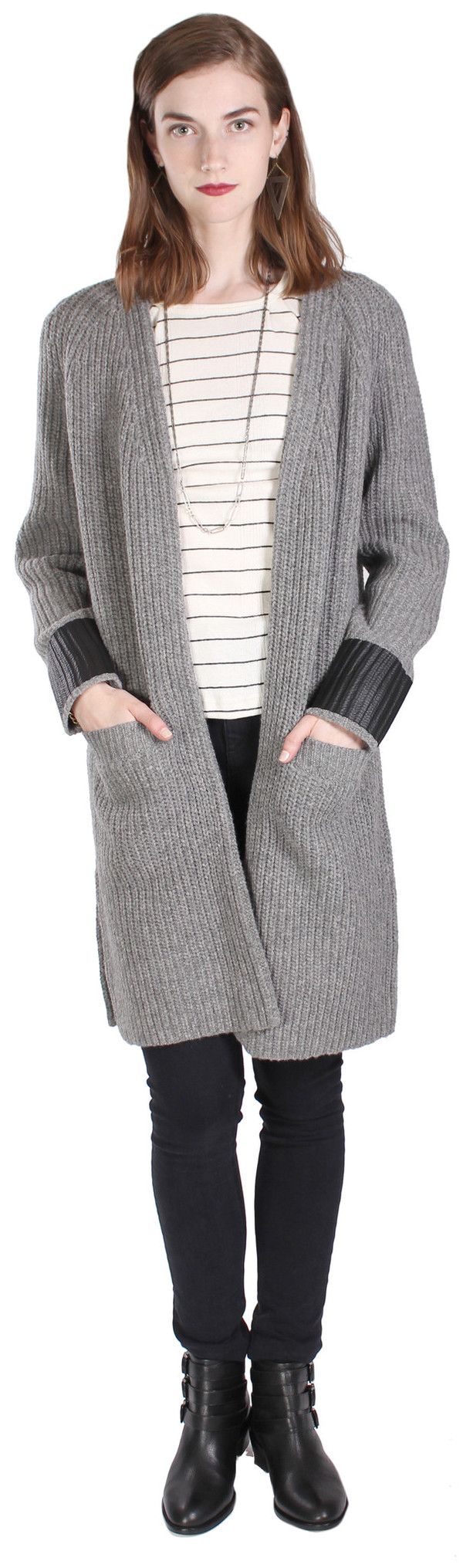 Rag & Bone Bonnie Stripe Cardigan