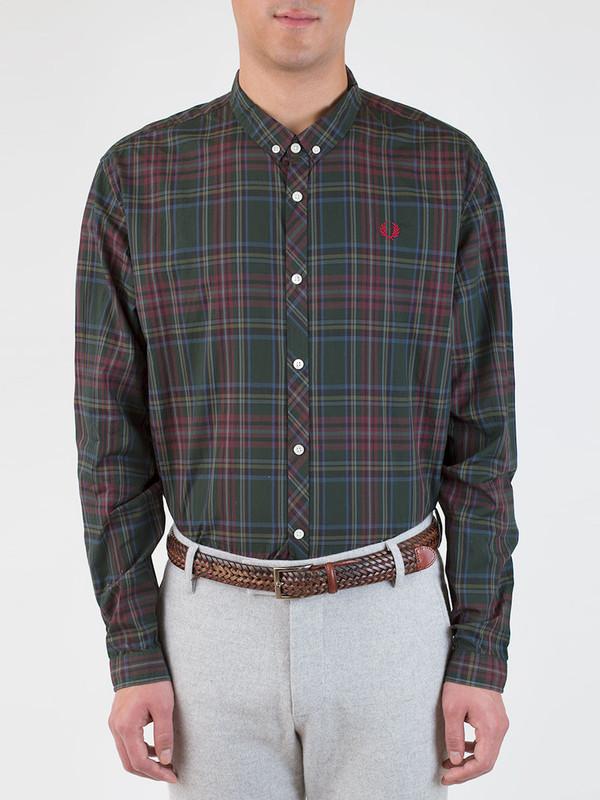 Men's Fred Perry Tonal Tartan Shirt