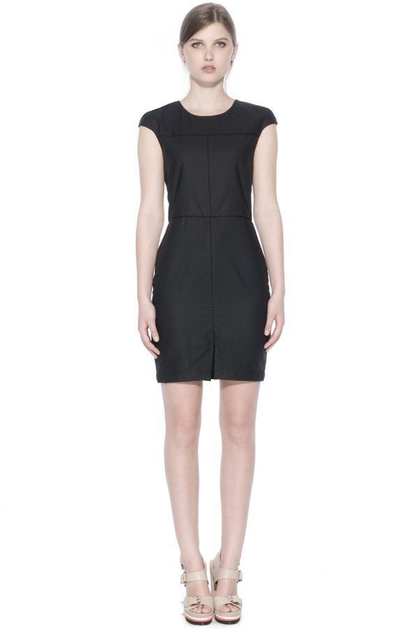 Valerie Dumaine Ebony Dress