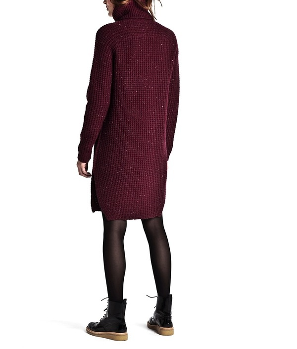 G-SUS Relax Turtleneck Knit Dress