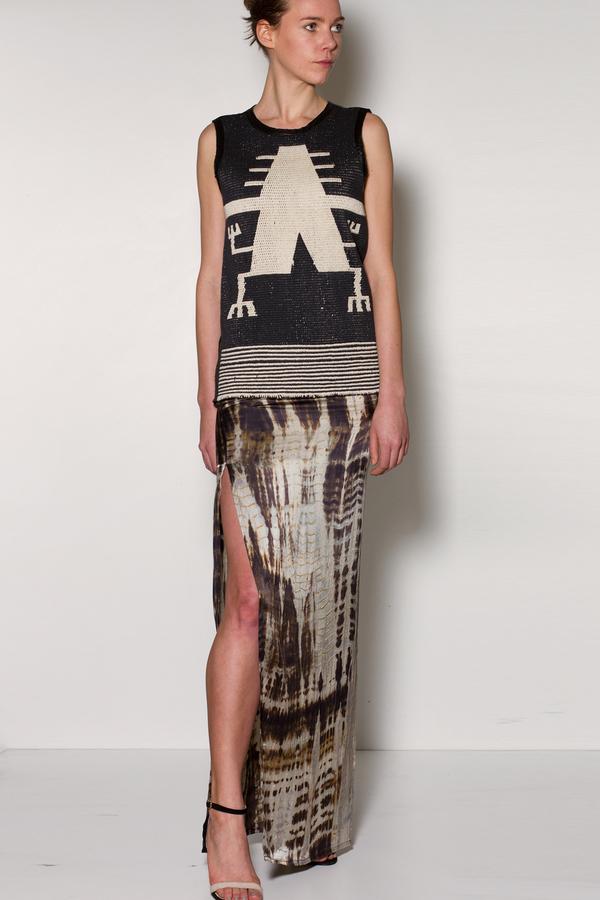 Voz Maxi Skirt