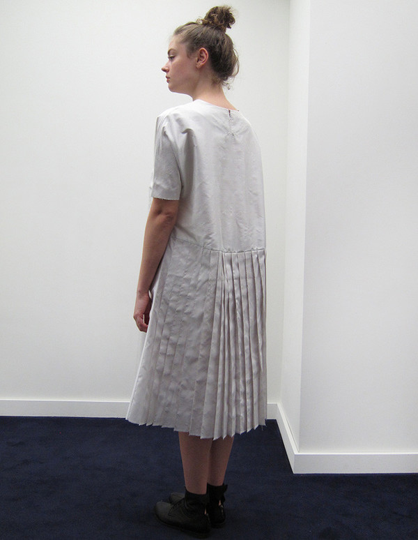 Alexa Stark Pleated Dress