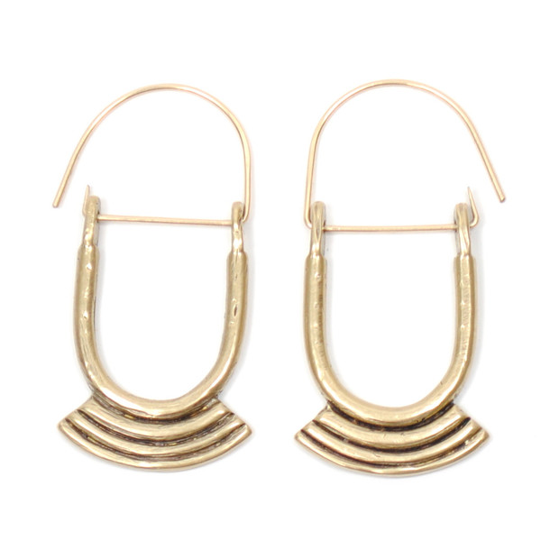 Seaworthy ZIGGUR EARRINGS