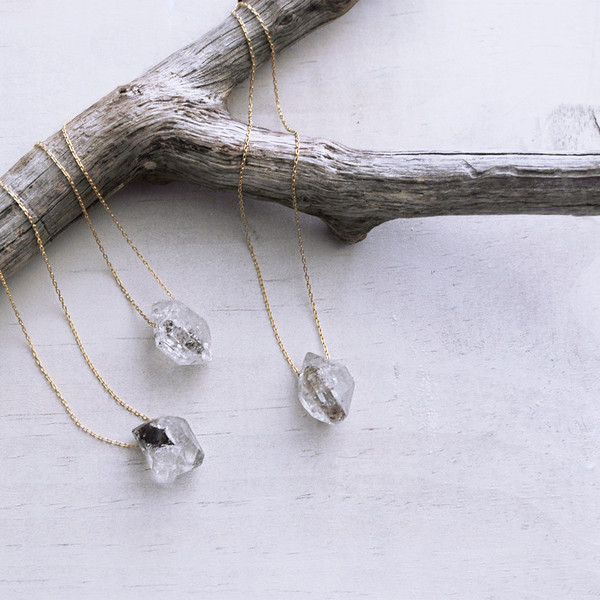 Clementine Herkimer Diamond Necklace