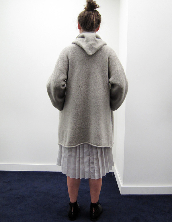 Lauren Manoogian Capote Coat, Cement