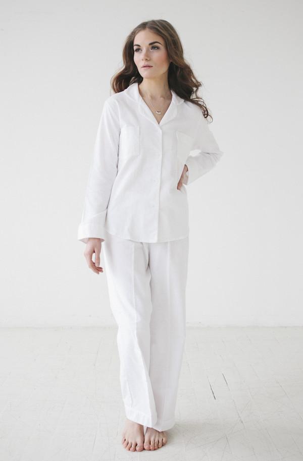 Salua Atelier Classic Flannel Pajama