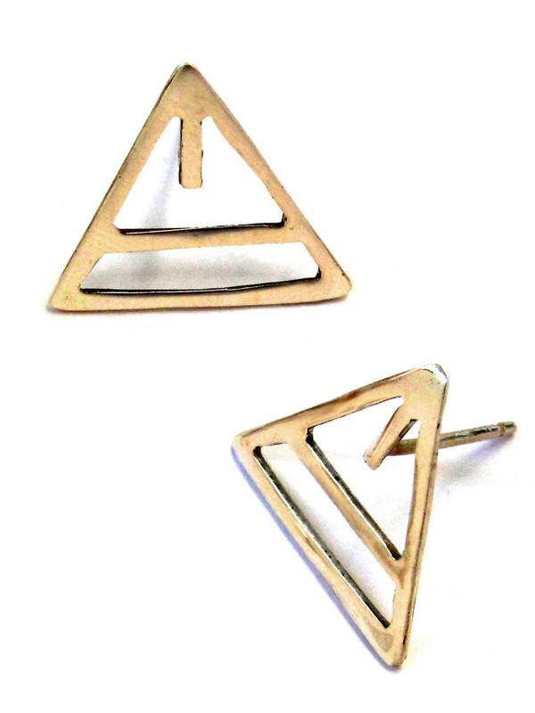 Alynne Lavigne Triangle Earring