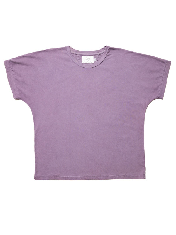 Olderbrother Anti-fit OB Tee | Plum