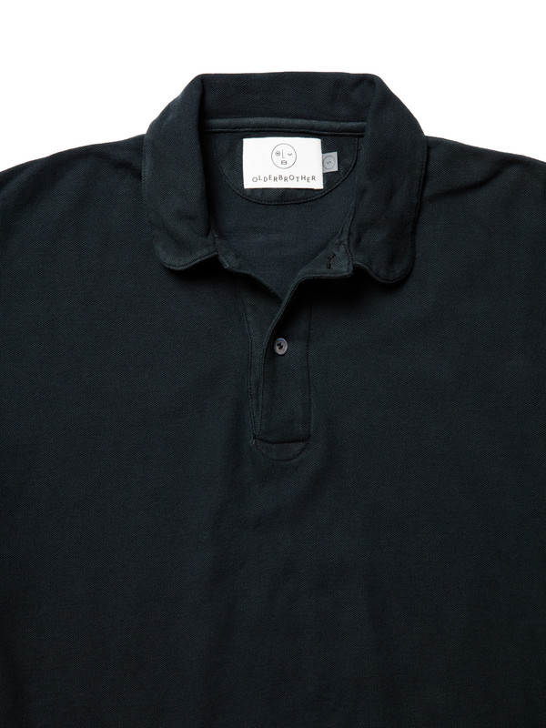 Men's Olderbrother Polo - Black Indigo
