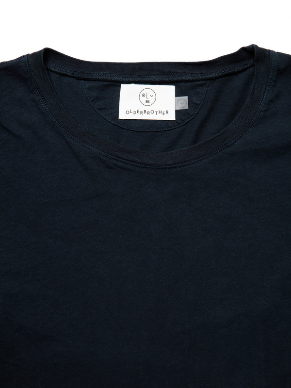 Men's Olderbrother Tee | Black Indigo