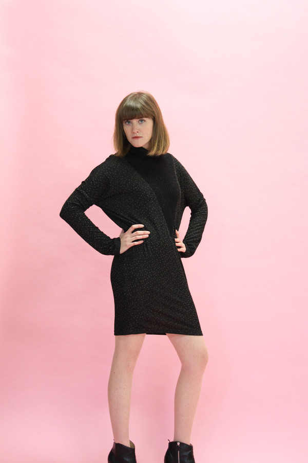 Eve Gravel Montreal Dress | Black