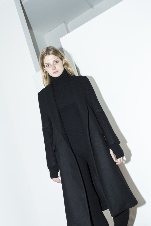 Assembly New York Black Belt Coat