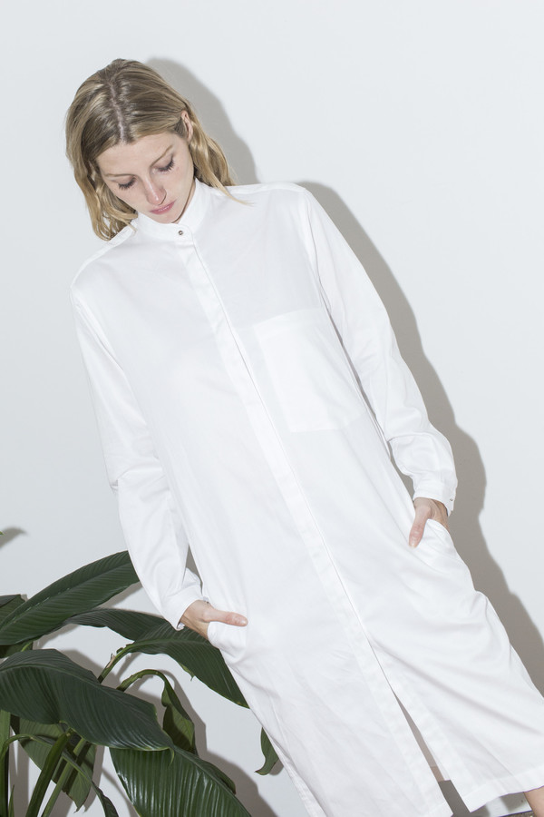Assembly New York White Shirt Dress