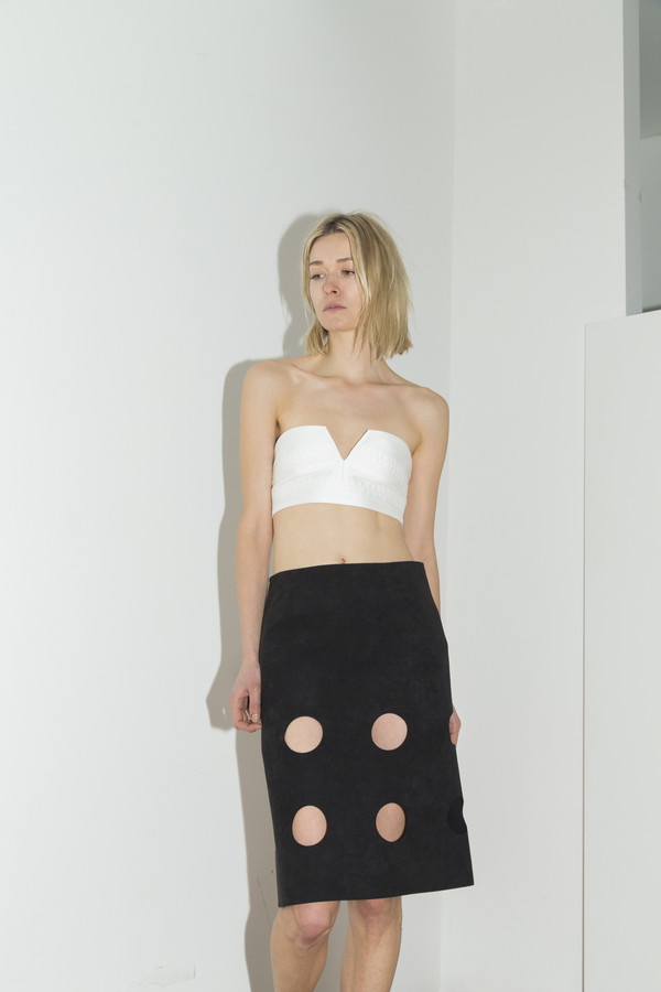 CF. Goldman Black Damien Skirt