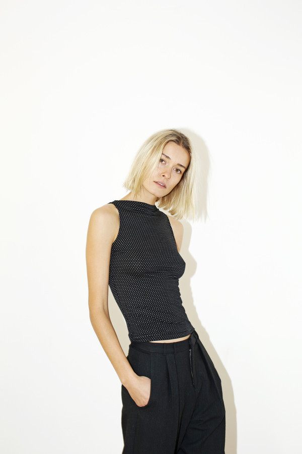 David Michael Black Helix Top