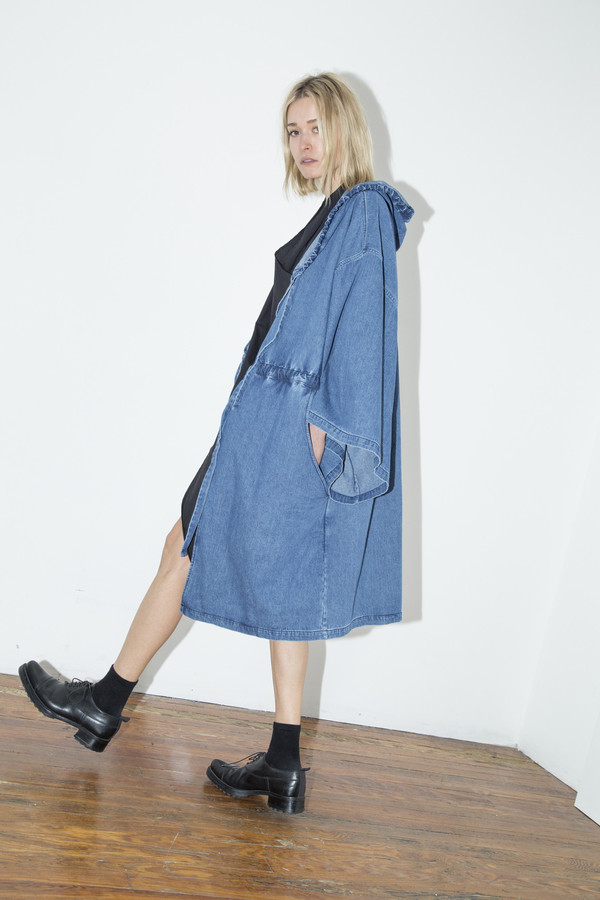 Denim Boxing Robe