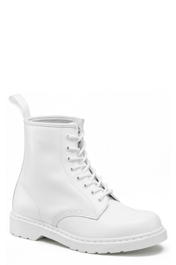 Dr. Martens White 1460 Boot