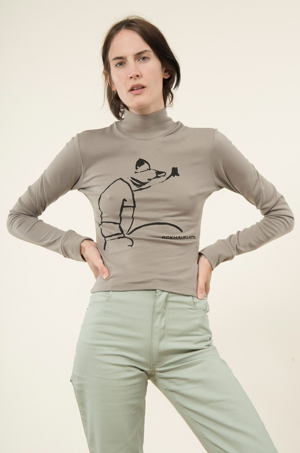 Eckhaus Latta Pissing Turtleneck