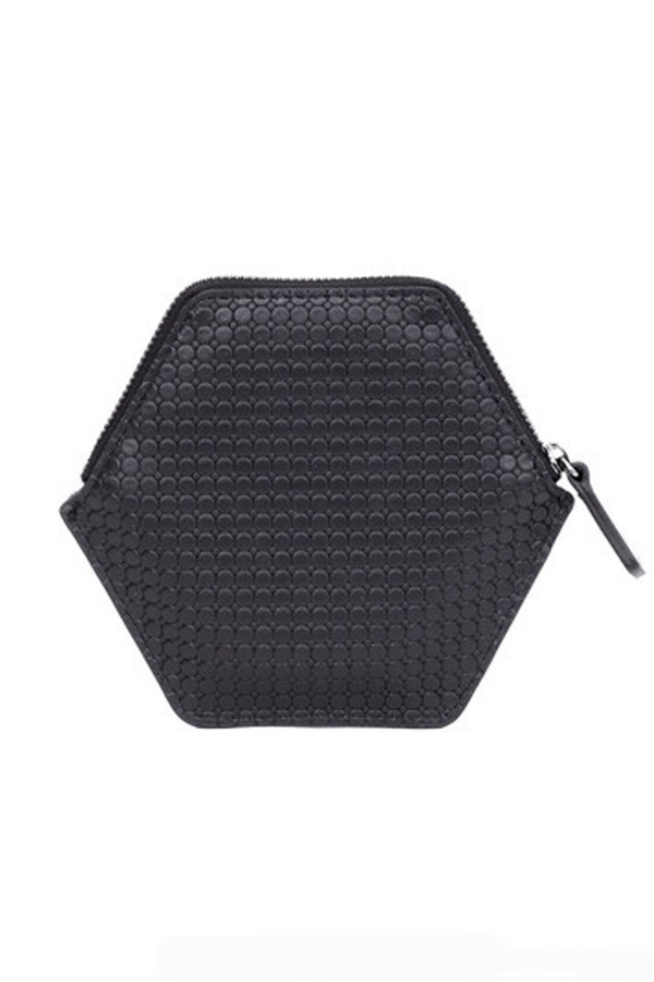 Unisex Imago-A Black Hexa Wallet
