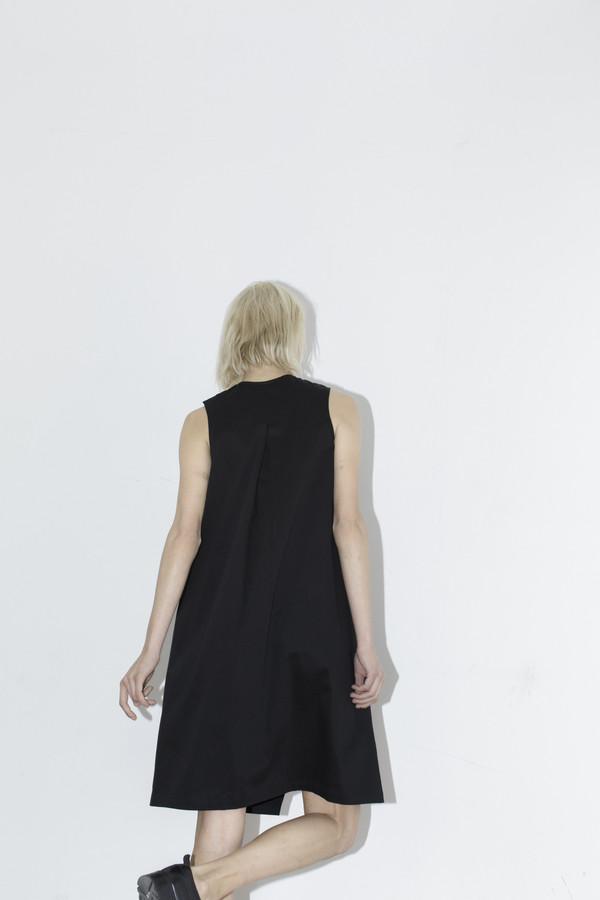 Index Black Belt Dress