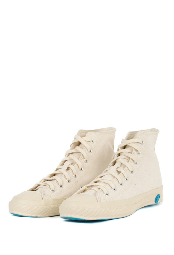 Shoes Like Pottery Natural Canvas High Top Sneaker