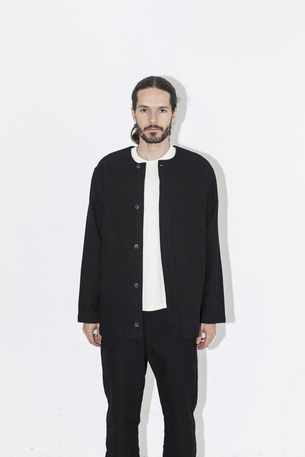 Men's Neuba Black Twill Base Jacket
