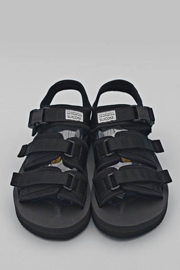 Unisex Suicoke Black GGAV Sandal