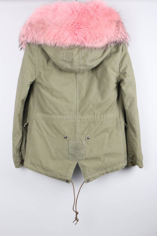 Mr & Mrs Italy Mini Army Parka Pink