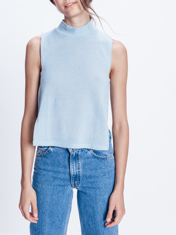 REIFhaus ROGUE MOCK NECK TOP
